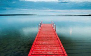 photo pont rouge